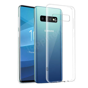 Samsung Galaxy S10 Plus Phone Case, Clear Hard Plastic Phone Case