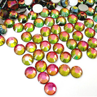 Volcano Glass Rhinestones - SS6, 1440 pieces - 2mm Flatback, Round, Loose Bling - TheDecoKraft - 1