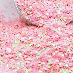 Pink201A Chunky Holographic Glitter, Polyester Glitter - 1oz/30g