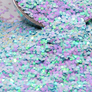 Light Blue203A Chunky Holographic Glitter, Polyester Glitter - 1oz/30g