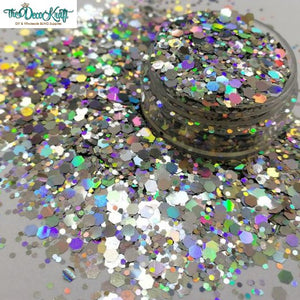 Paparazzi Mixed Chunky Glitter, Polyester Glitter for Tumblers Nail Art Bling Shoes - 1oz/30g