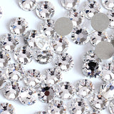 SS6/2mm Clear Glass Round Flat Back Loose Rhinestones - 1440pcs