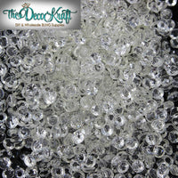 2-6mm Mixed Clear Transparent Resin Round Flat Back Loose Rhinestones