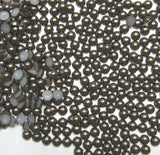 8mm Dark Coffee Flatback Half Round Pearls - 28 grams / 200 pieces - Loose, Bling, Nail Art, Decoden TDK-P088 - TheDecoKraft - 1