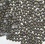 4mm Dark Coffee Flatback Half Round Pearls - 18 grams / 1,000 pieces - Loose, Bling, Nail Art, Decoden TDK-P084 - TheDecoKraft - 1