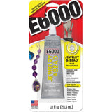 E6000 Jewelry & Bead Adhesive with Precision Tips - 1 oz/29.5ml