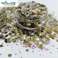 Chunky21 Mixed Chunky Glitter, Polyester Glitter for Tumblers Nail Art Bling Shoes - 1oz/30g