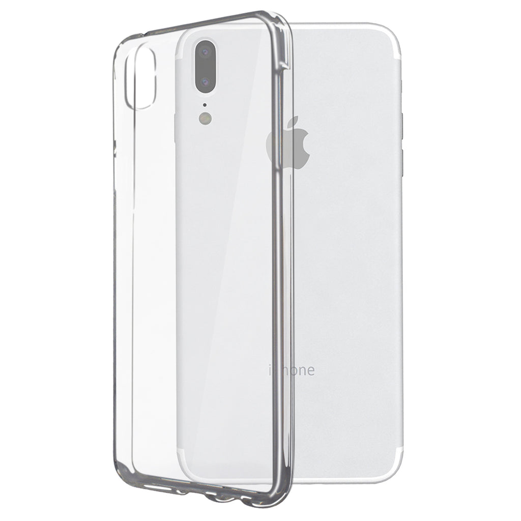 iPhone X 10 Phone Case, Clear Hard Plastic Phone Case