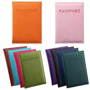 Passport ID Holder Travel Wallet Case Cover DIY Decoden