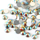 SS30/6mm Morning Light Glass Round Flat Back Loose Rhinestones - 288pcs