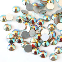 SS16/4mm Morning Light Glass Round Flat Back Loose Rhinestones - 1440pcs