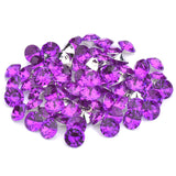 16mm Light Purple Acrylic Round Pointback Chatons Rhinestones - 25pcs