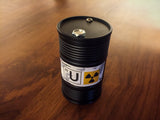 Glowing Chernobyl Storage Tank Replica