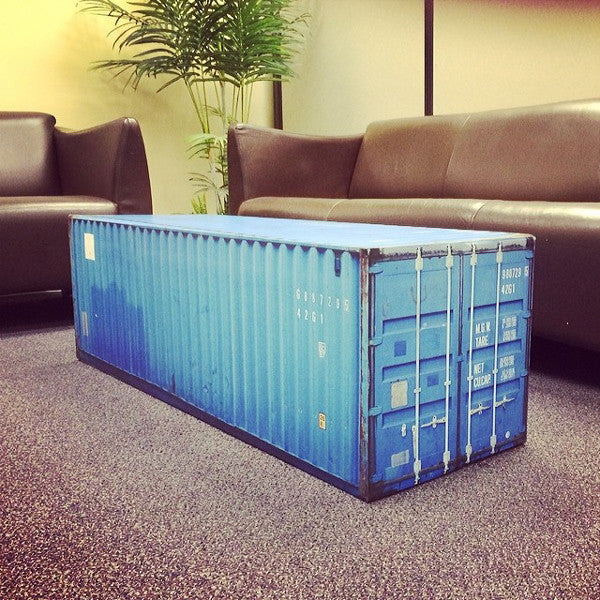 Intermodal Coffee Table Vinyl Wrap