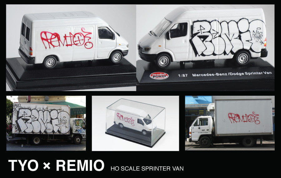 REMIO HO SCALE VAN