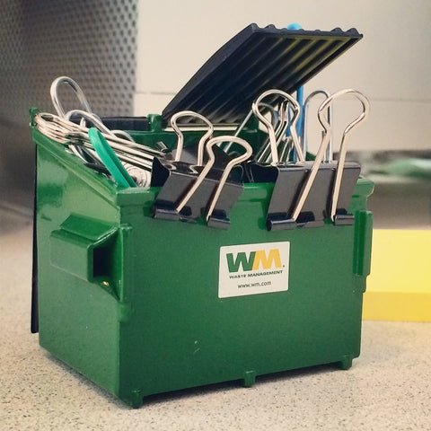Waste Management Mini Dumpster