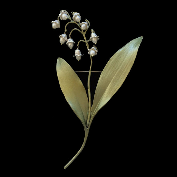 Lily of the Valley Brooch large