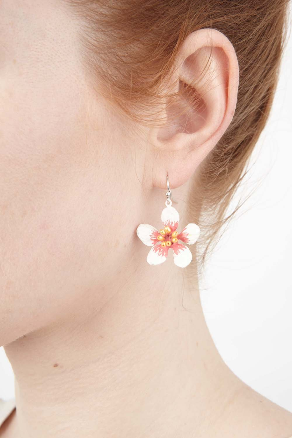 Almond Blossom Earrings - Wire