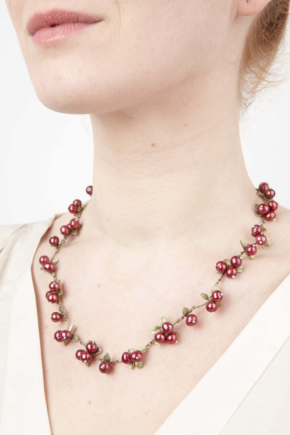 Cranberry - Collier