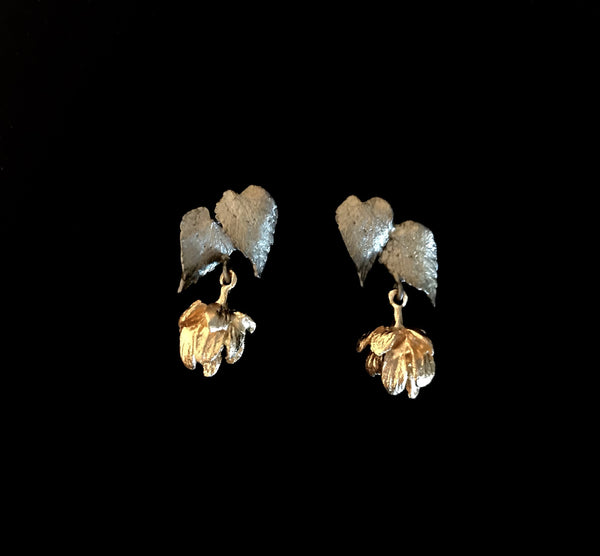 Hops Earrings - Post