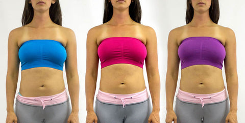 Bandeau Bras (3-Pack Neon Colors)