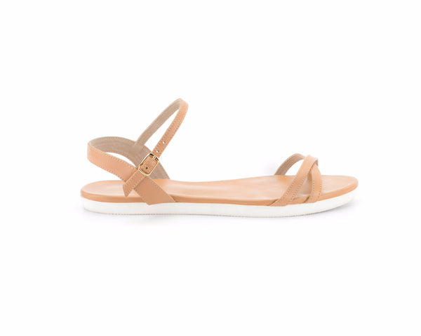 The Tan Nicolet Sandal