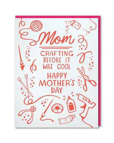 Crafting Mom Card