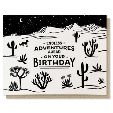 Endless Adventures Card