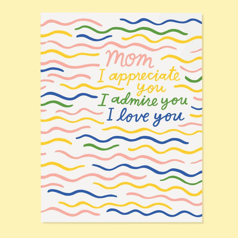 Appreciate Mom Card
