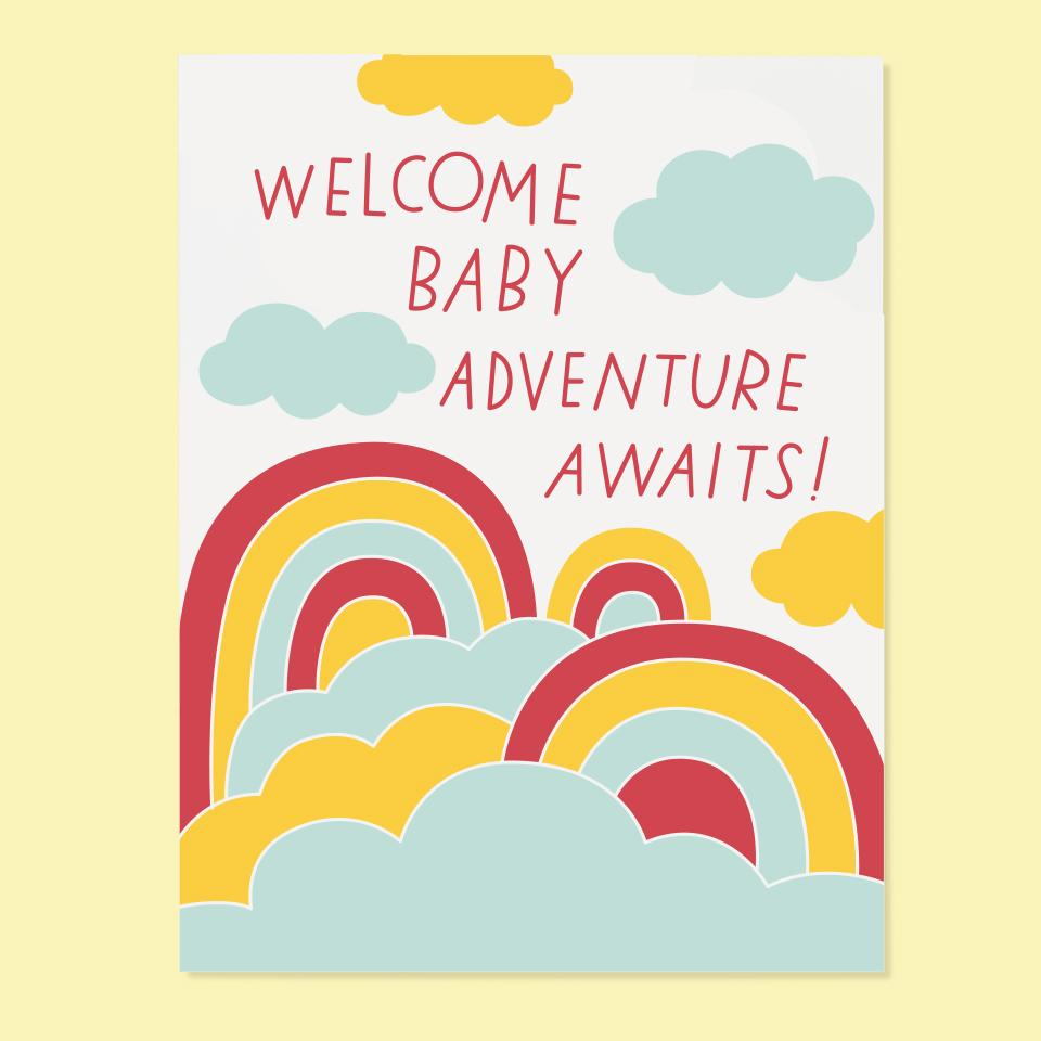 Baby Adventure Card
