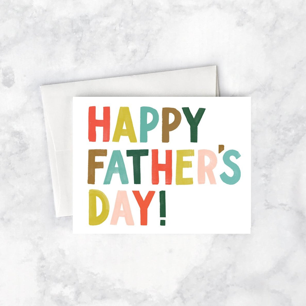 Bright Father's Day Card