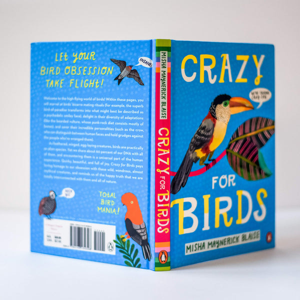 Crazy for Birds Book