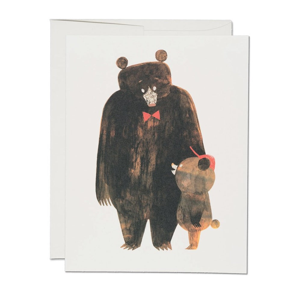 Daddy Bear Card