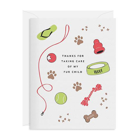 Dog Sitter Thanks Card