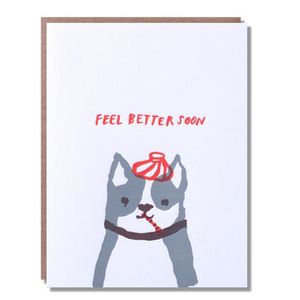 Feel Better Dog Card