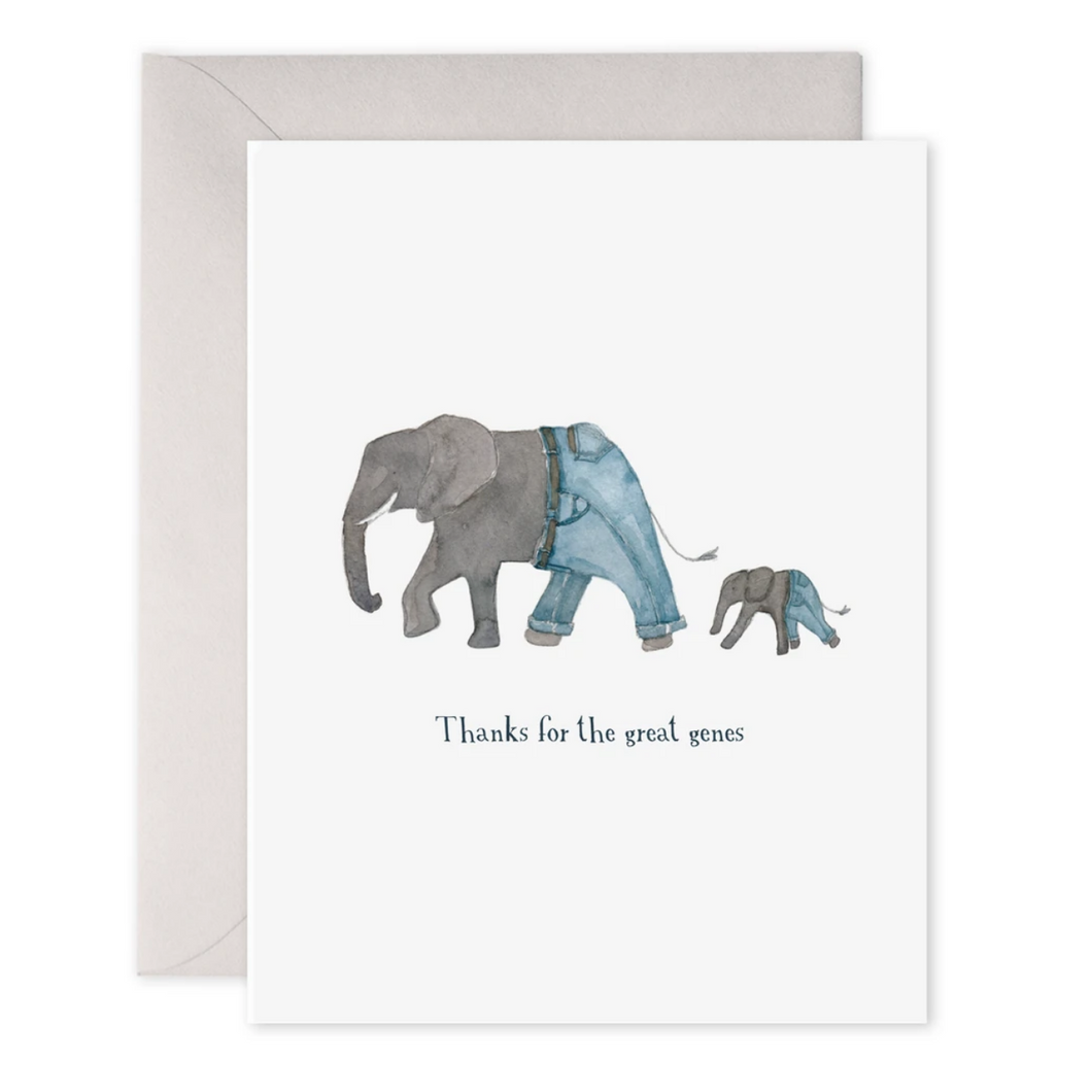 Elephant Great Genes Card