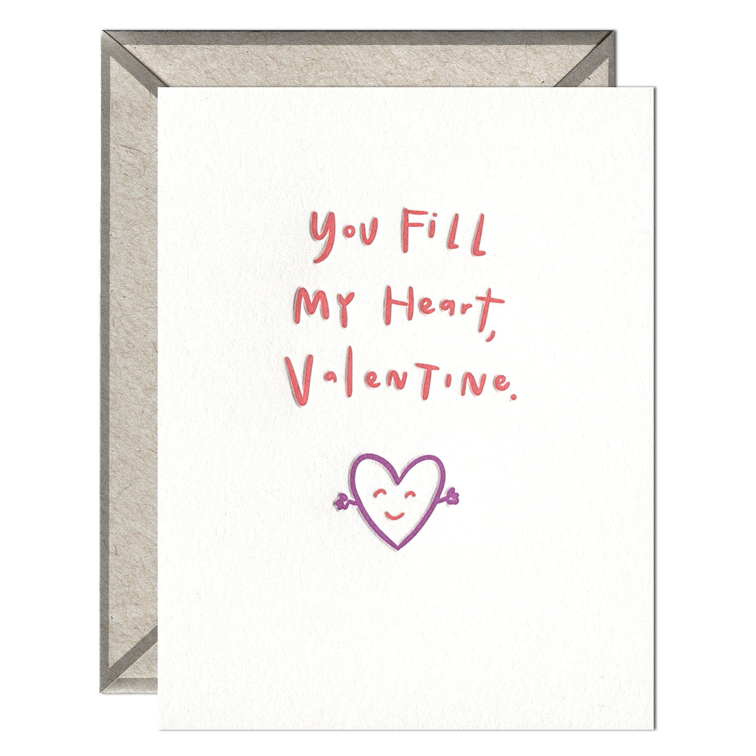 Fill My Heart Valentine Card