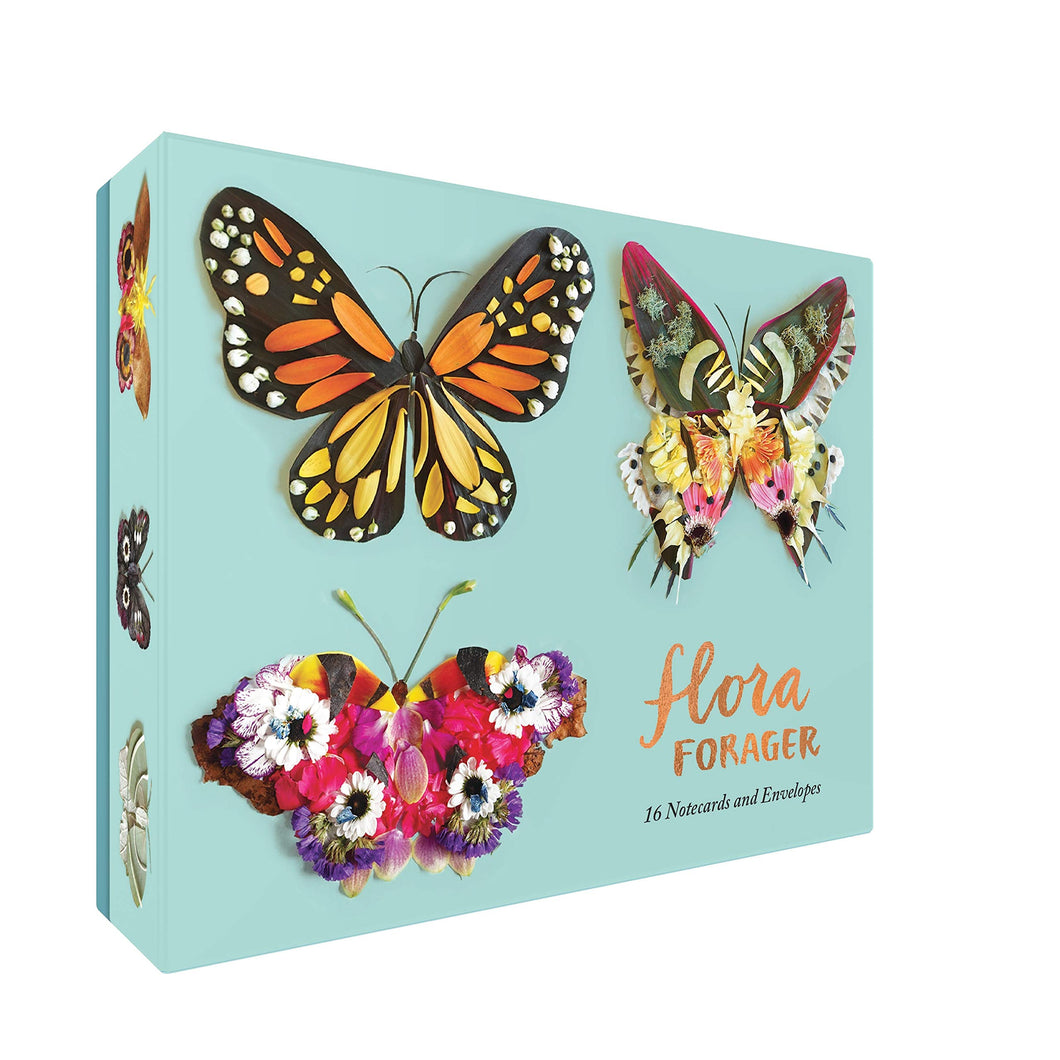 Flora Forager Butterfly Card Set