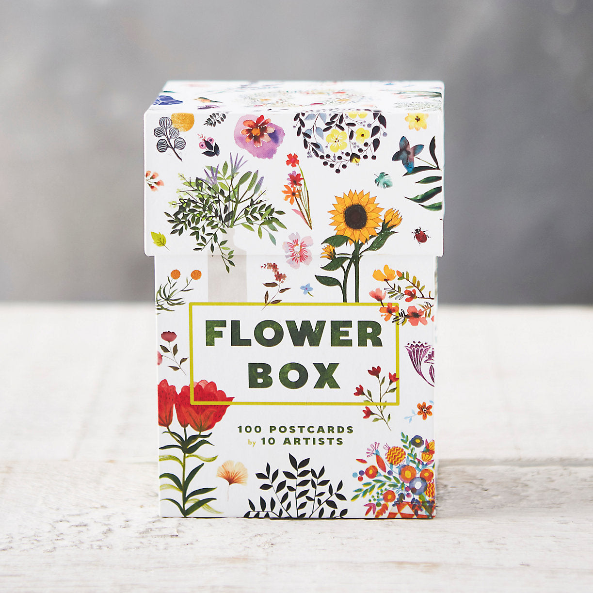 Flower Box Postcard Set