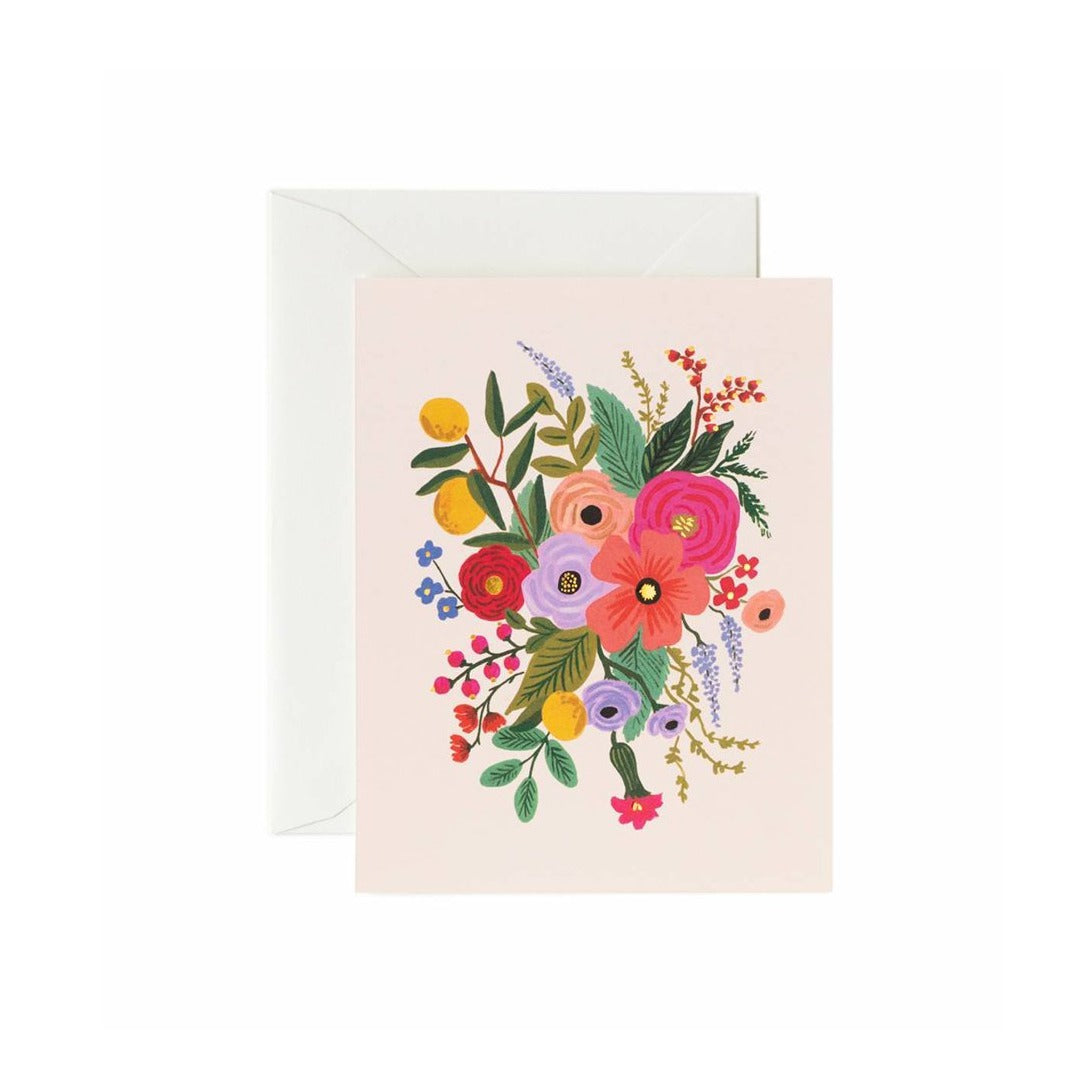 Garden Party Blush Card