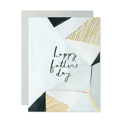 Father's Day Geometric Card