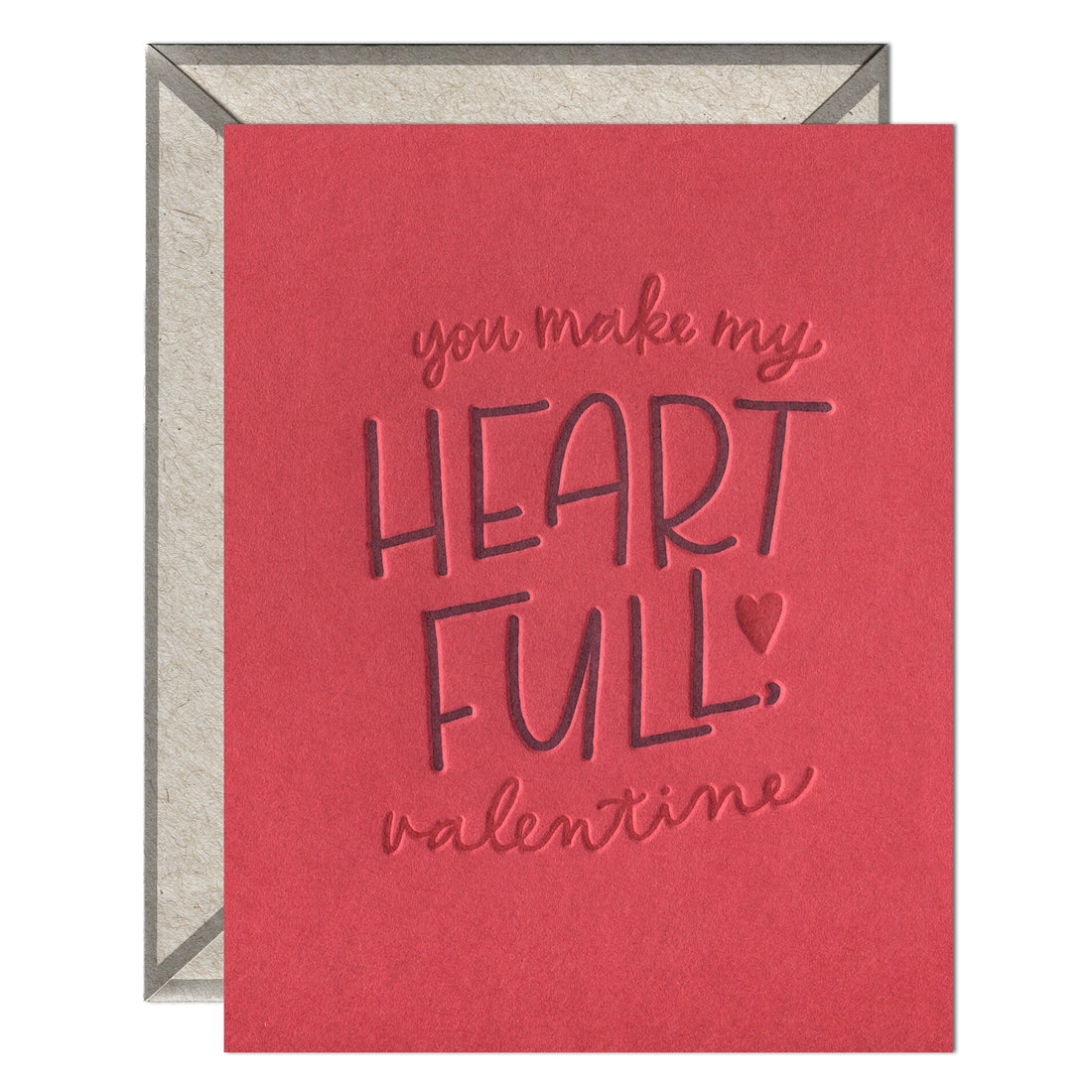 Heart Full Valentine Card