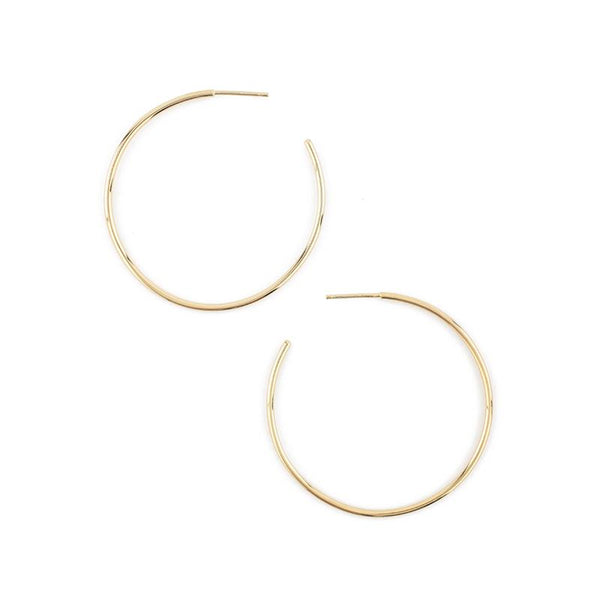 Leen Medium Hoops