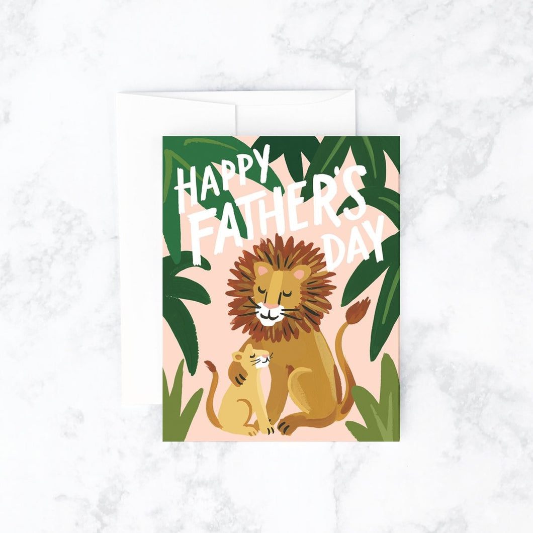 Lion Father's Day Card