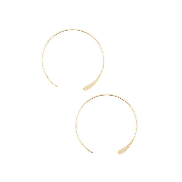 Luna Medium Hoops