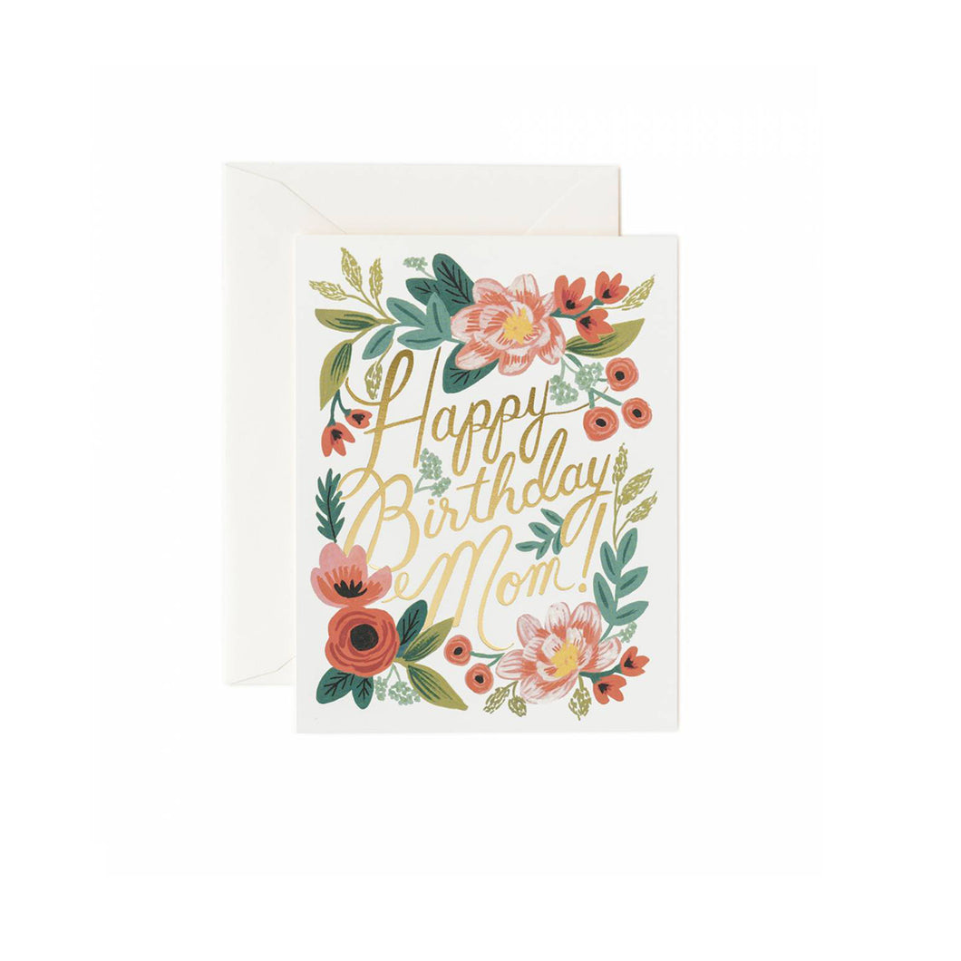 Outstanding Mom Birthday Card Shout And About Personalised Birthday Cards Veneteletsinfo