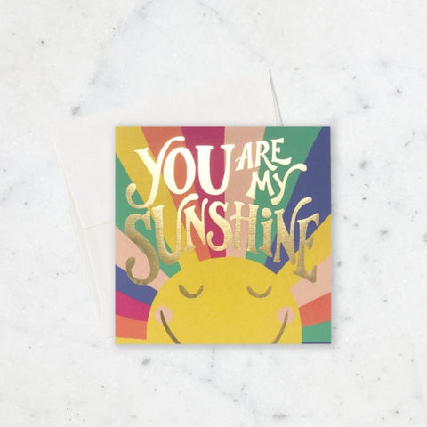 Colorful Sunshine Card