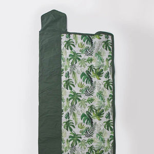 Outdoor Blanket 5x7 Tropical Leaf