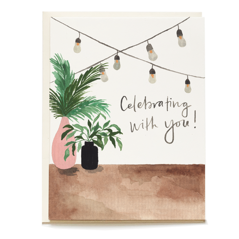 Backyard Celebration Card