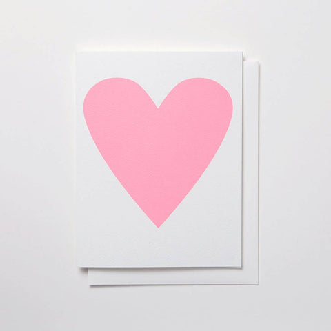 Pastel Heart Card